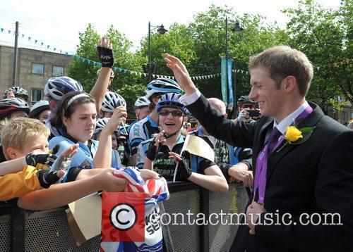 Olympic gold medal cyclist Jason Kenny  Olympic...