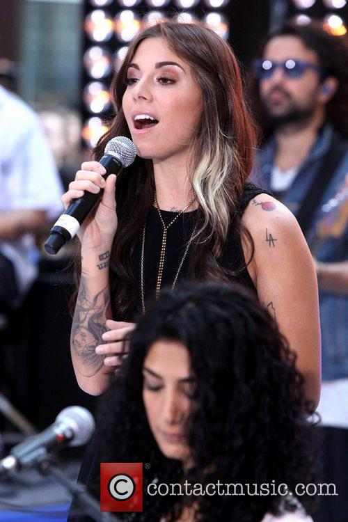 christina perri performing live at the toyota 5901897