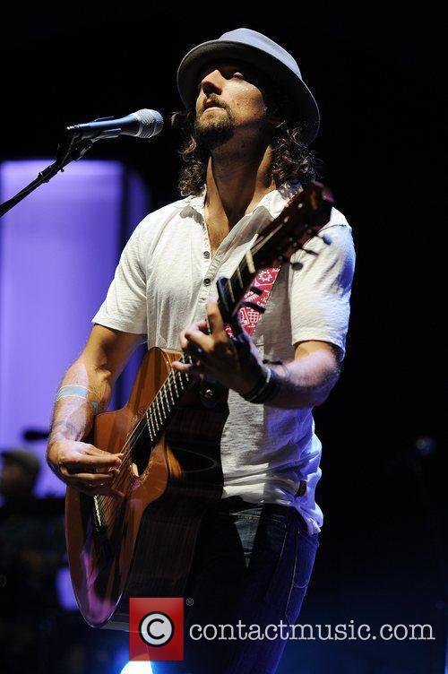 Jason Mraz  performing on the 'Tour is...
