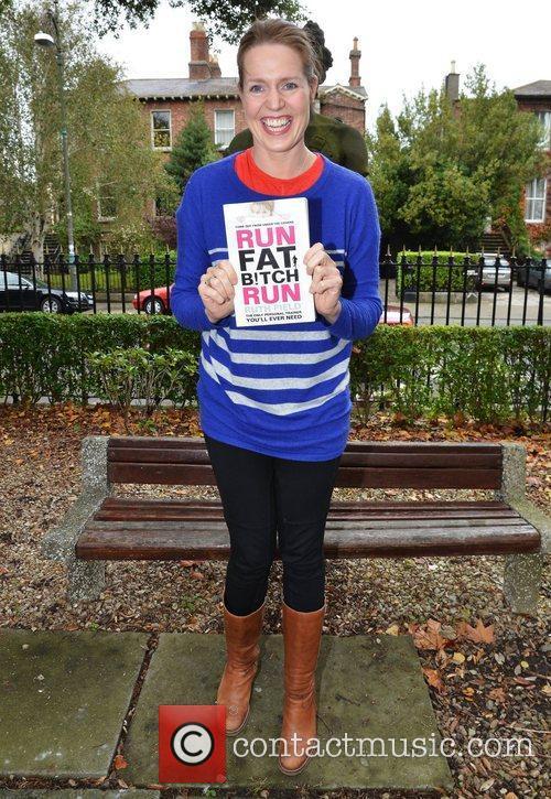 Ruth Field Jason O'Callaghan launches his new book...