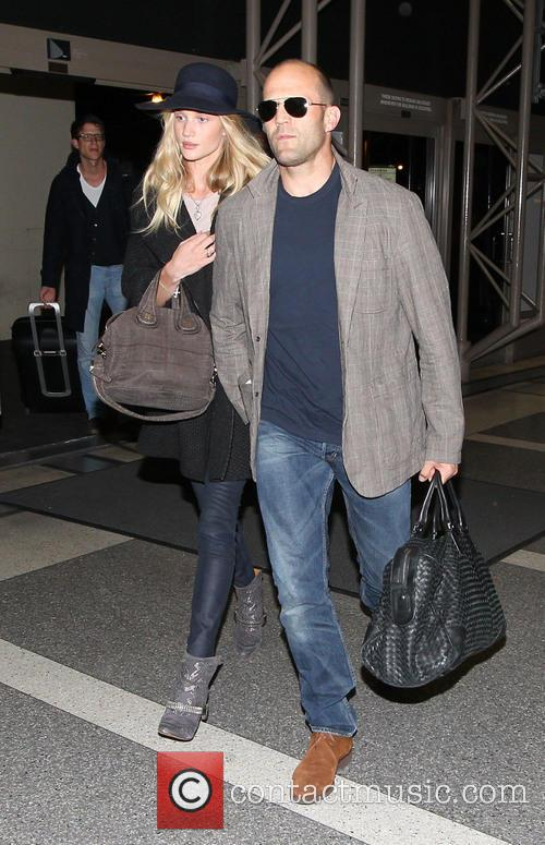 Jason Statham, Rosie Huntington-Whiteley and International 7
