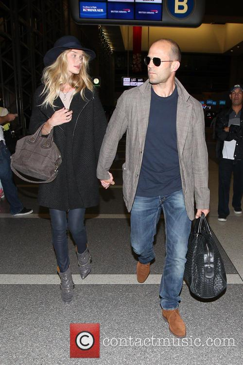 Jason Statham, Rosie Huntington-Whiteley and International 14