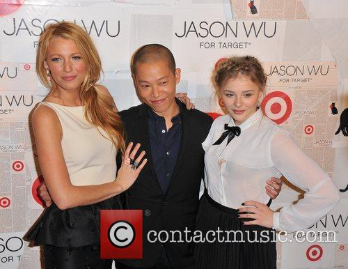 Blake Lively, Chloe Moretz and Jason Wu 2
