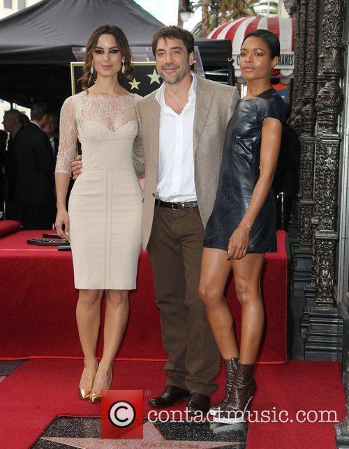 Berenice Marlohe, Javier Bardem and Naomie Harris 4