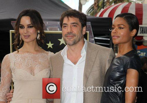 Berenice Marlohe, Javier Bardem and Naomie Harris 2