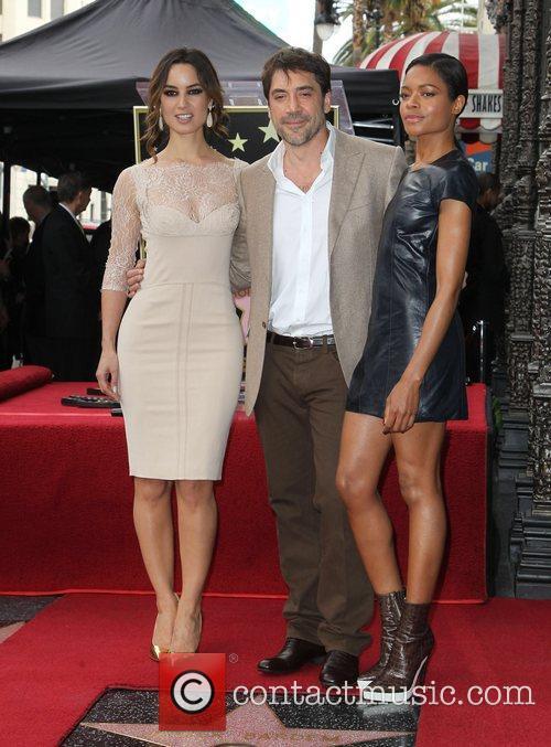Berenice Marlohe, Javier Bardem and Naomie Harris 3