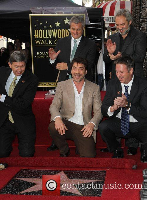 Javier Bardem is honored with a Hollywood Star...
