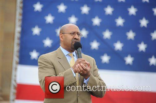 Philadelphia Mayor Michael Nutter Press conference on the...