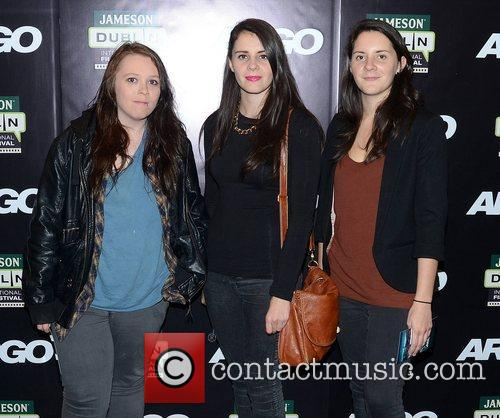 Jane Casey, Ellie Mcnamara, Louise Mcnamara and Dublin International Film Festival 1