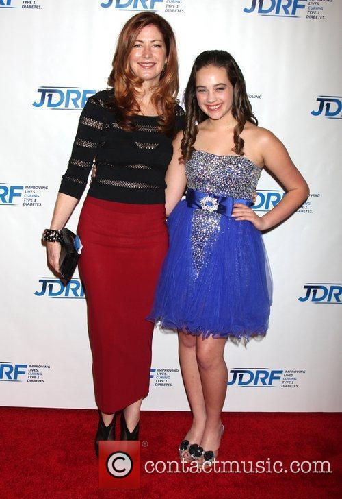 Dana Delany and Mary Mouser JDRF's 9th Annual...