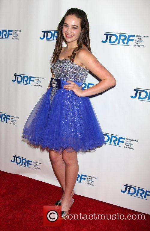 Mary Mouser JDRF's 9th Annual 'Finding A Cure:...