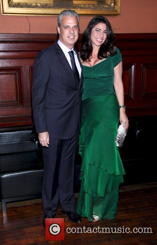 Eric Ripert and Sondra Ripert  at the...