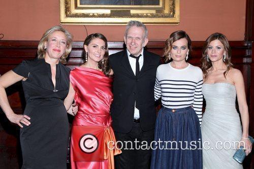 Veronica Bulgari,Sabina Schlumberger,Jean Paul Gaultier,Pamela Berkovic and Fadwa...