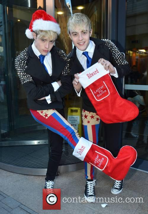 Jedward, Christmas, Today FM, Dublin, Ireland and Local Caption 5