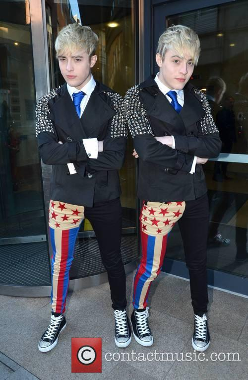 Jedward, Christmas, Today FM, Dublin, Ireland and Local Caption 3