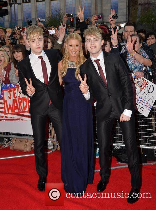 John Grimes and Edward Grimes aka Jedward with...