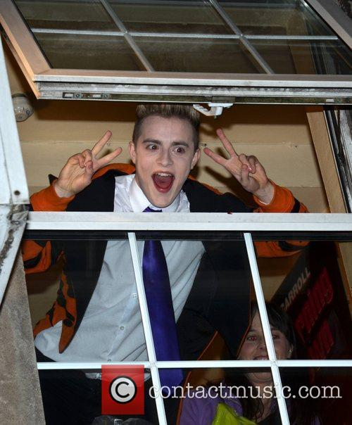 Jedward drive their fans wild when they appeared...