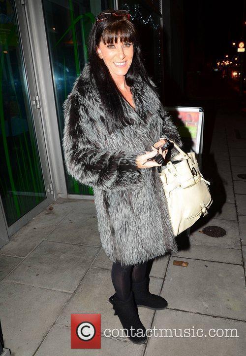 Linda Martin Jedward arrive at The Liffey Trust,...