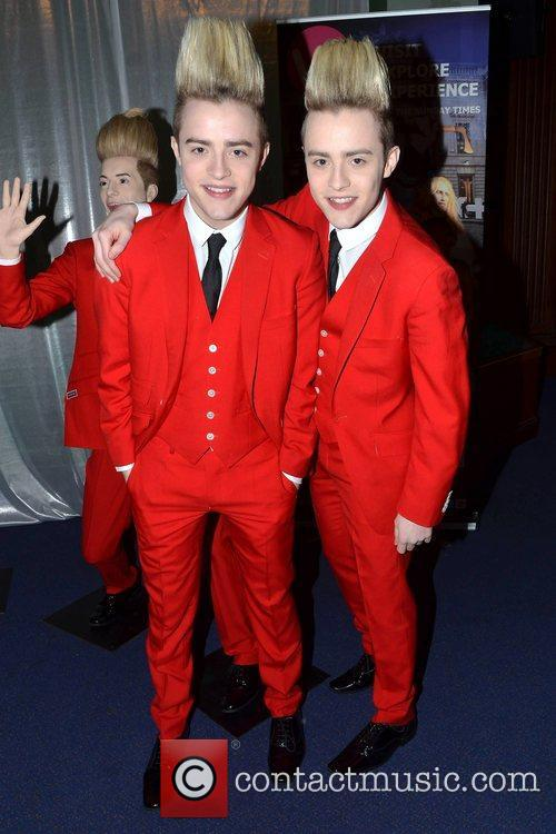 Jedward, The National Wax Museum, Plus, Dublin and Ireland 9