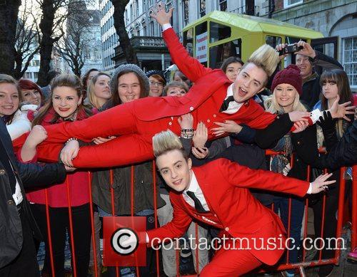 Jedward, The National Wax Museum, Plus, Dublin and Ireland 6