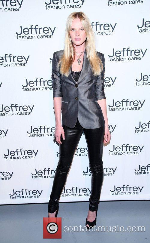 Anne Vyalitsyna Jeffrey Fashion Cares 2012 held at...