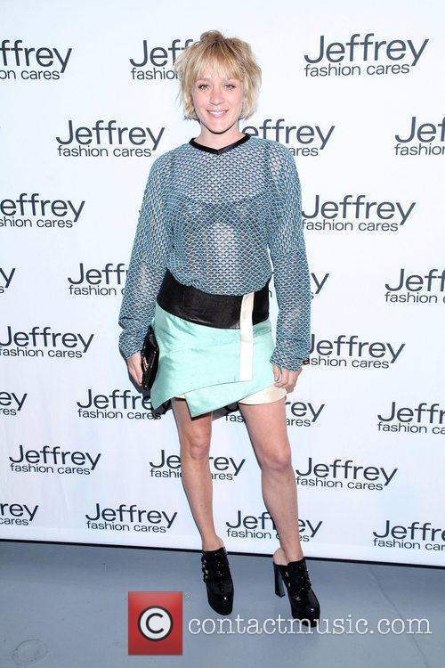 Chloe Sevigny Jeffrey Fashion Cares 2012 held at...