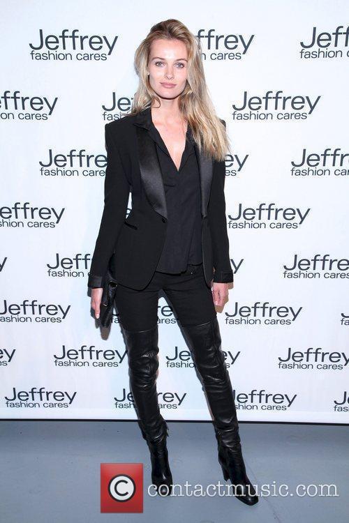 Edita Vilkeviciute  Jeffrey Fashion Cares 2012 held...