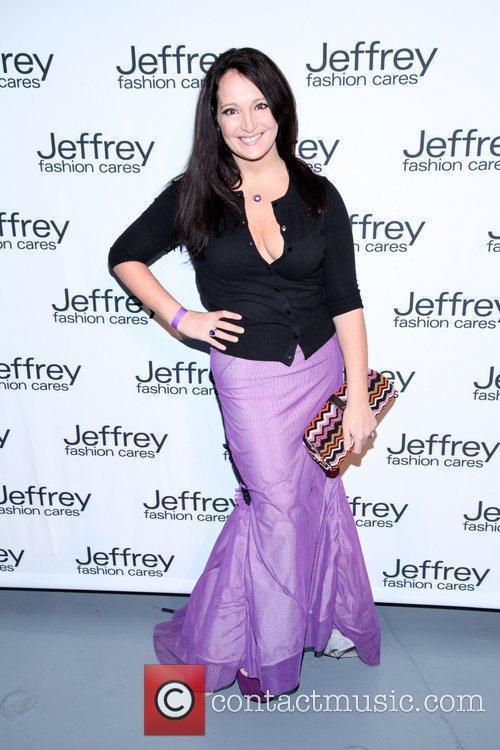 Emma Snowdon-Jones Jeffrey Fashion Cares 2012 held at...