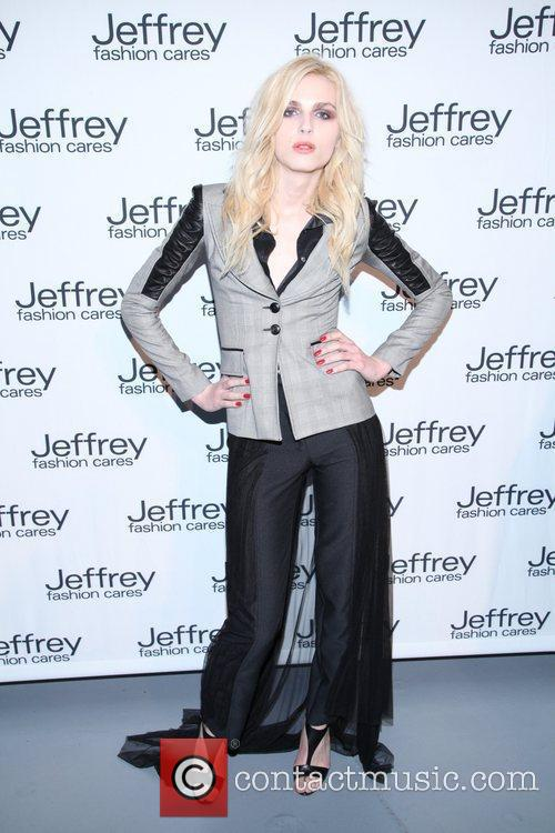 Guest Jeffrey Fashion Cares 2012 held at the...