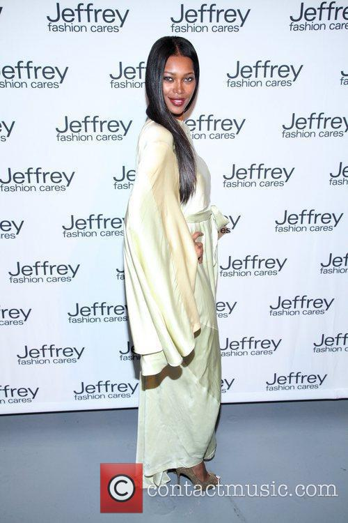 Jessica White Jeffrey Fashion Cares 2012 held at...