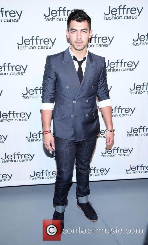 Joe Jonas Jeffrey Fashion Cares 2012 held at...