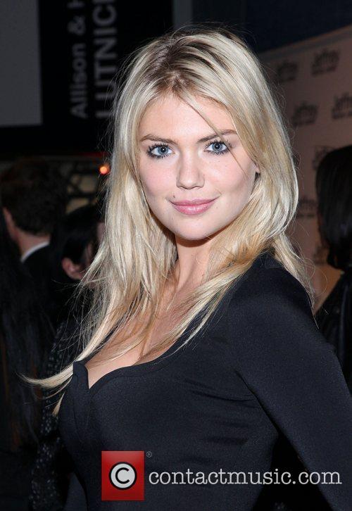 Kate Upton Jeffrey Fashion Cares 2012 held at...