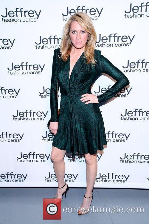 Marianne Garvey Jeffrey Fashion Cares 2012 held at...