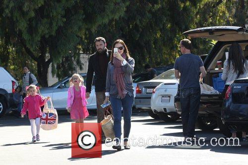 ben affleck jennifer garner and daughters seraphina 5948467