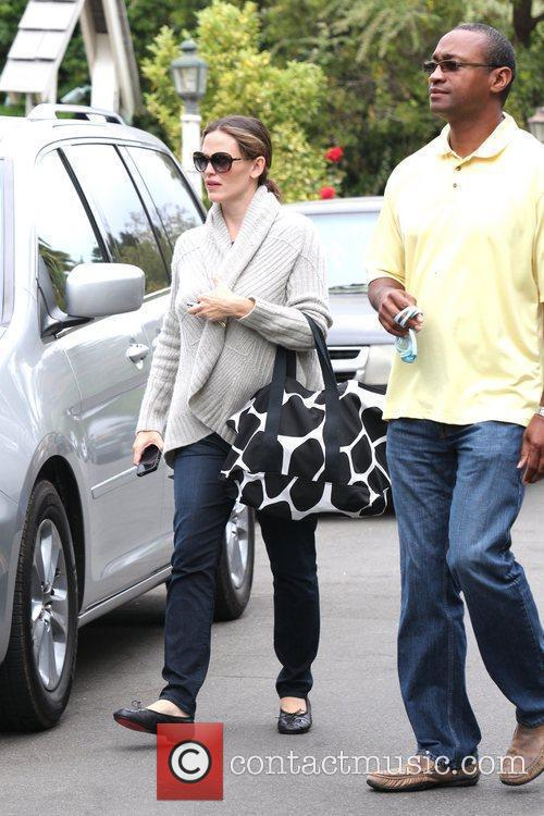 Jennifer Garner is seen heading to a birthday...