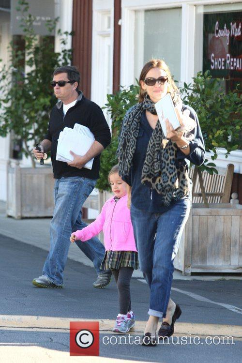 Jennifer Garner, Seraphina Affleck and Brentwood 5