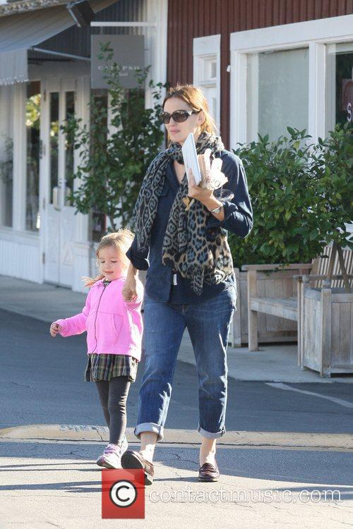 Jennifer Garner, Seraphina Affleck and Brentwood 1