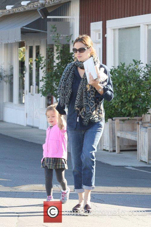 Jennifer Garner, Seraphina Affleck and Brentwood 2