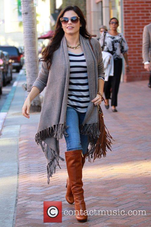 Jenna Dewan-Tatum seen leaving the  Anastasia salon...