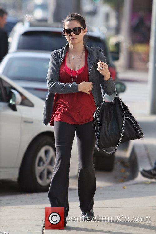 Jenna Dewan-Tatum  seen in fitness gear, seen...