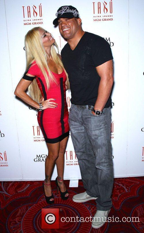 Jenna Jameson and Tito Ortiz Jenna Jameson celebrates...