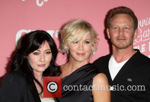 Shannen Doherty, Ian Ziering and Jennie Garth 2