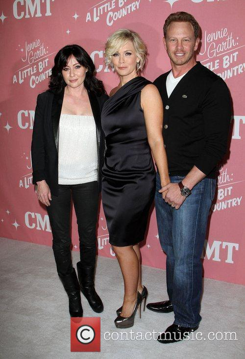 Shannen Doherty, Ian Ziering and Jennie Garth 3