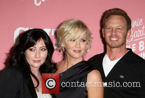 Shannen Doherty, Ian Ziering and Jennie Garth 4