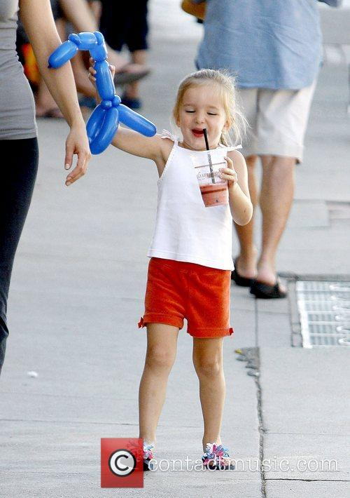 Jennifer Garner's daughter Seraphina Affleck out and about...