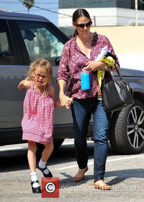 Jennifer Garner takes her daughter Violet to karate...