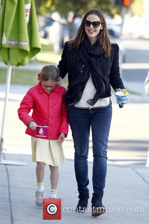 Jennifer Garner takes her daughter Violet Affleck for...
