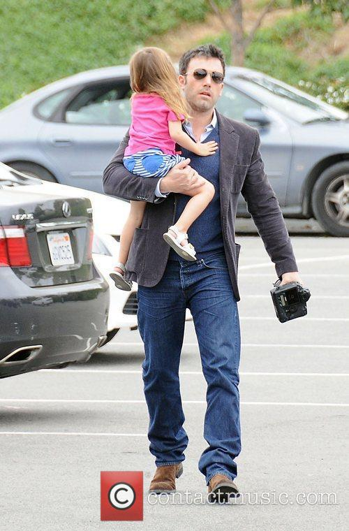 ben affleck and his daughter seraphina arrive 3878498