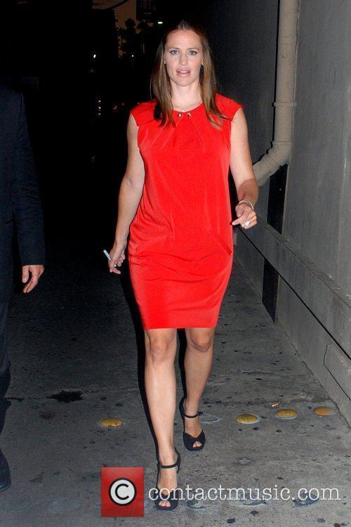 Jennifer Garner  outside the 'Jimmy Kimmel Live!'...