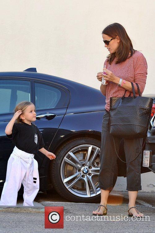 Jennifer Garner and Seraphina Affleck Jennifer Garner and...